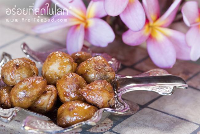 ปั้นสิบไส้หมูหยอง น้ำพริกเผา อร่อยที่สุดในโลก
