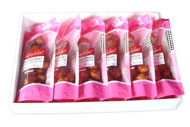 ชุด ปั้นสิบไส้ไก่พริกไทยดำ